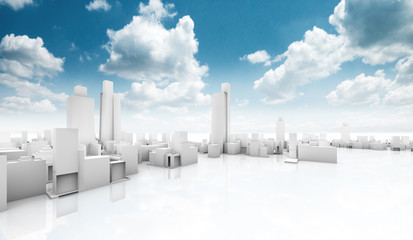 proyecto de ciudad,concepto de construccion ecologica