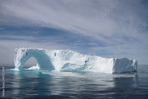 In de dag Antarctica 2 Iceberg off the coast of Greenland