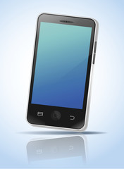 vector of mobile phone