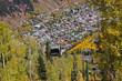 Telluride tourist attraction in Colorado rocky mountains