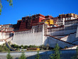 The iconic Potala Palace in Lhasa, Tibet