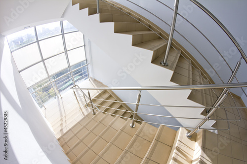 office staircase (fisheye snapshot)