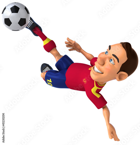 Spanish footballer