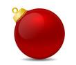 Weihnachtsbaumkugel einzeln