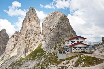 Fonda-Savio Hut, Dolomites, Italy.