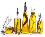 Fototapety assortment of cooking oil