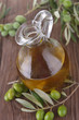green olive and carafe