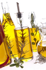 assortment of cooking oil