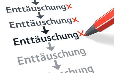 Stift- & Schriftserie: Und wieder eine Enttäuschung mehr...