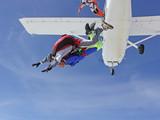 Saut en parachute en tandem (sortie d'avion)