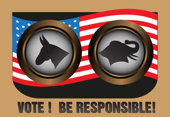 Vote and be responsible