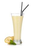 Fototapety Banana milk smoothie