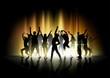 Obrazy na płótnie, fototapety, zdjęcia, fotoobrazy drukowane : Dance and Light Show