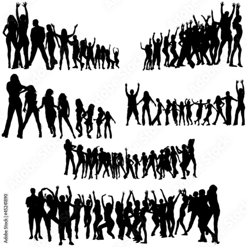 Crowd Silhouettes