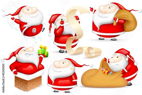 Santa in different Mood