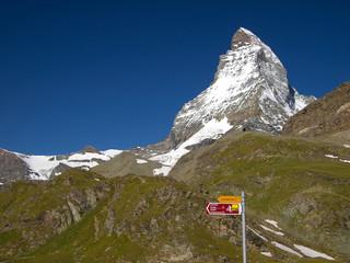 Matterhorn the Swiss symbol