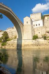 View from under bridge - Mostar