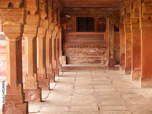 Interiors of Fatehpur Sikri, India