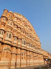 Hawa Mahal under the morning light