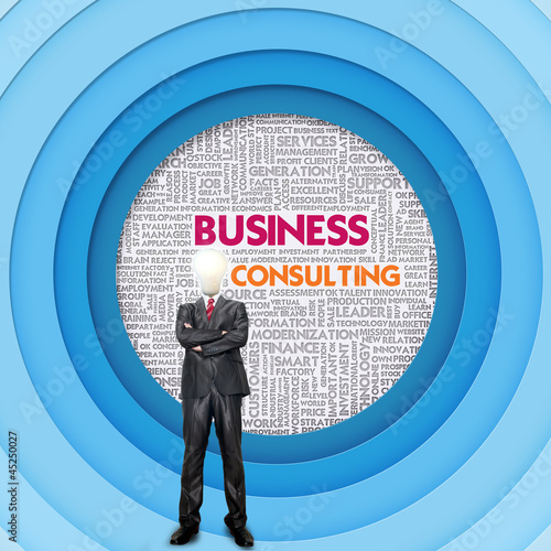 Business word cloud for business concept, Business Consulting