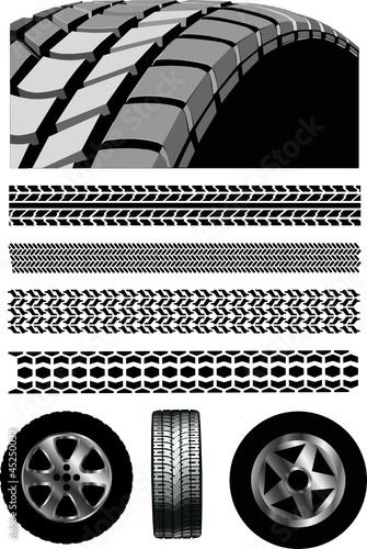 Reifen Profil Autofelgen