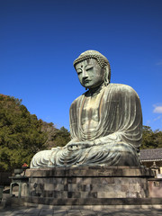 Daibutsu, the giant Buddha statue of Japan