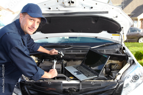 Car mechanic.