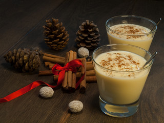 Traditional eggnog II