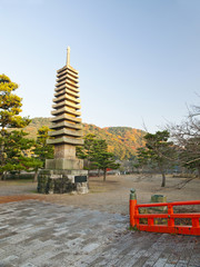 Largest Stone Pagoda in Japan