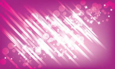 Abstract Glow of Lights pink background