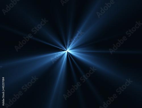 Canvas Licht, schaduw レーザー光線