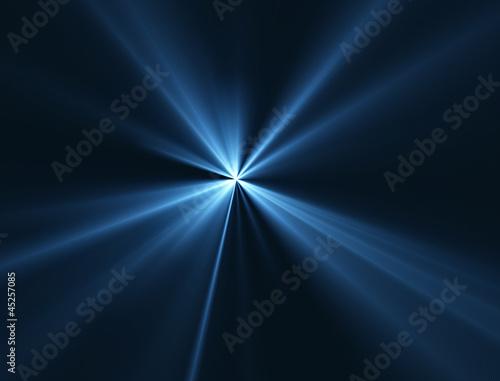Staande foto Licht, schaduw レーザー光線