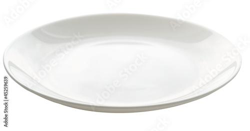 Leinwandbild Motiv empty plate