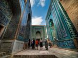 Shah-I-Zinda memorial complex. Samarkand, Uzbekistan. - 45261414