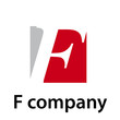 Vector Logo initial letter F