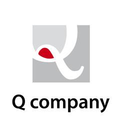 Vector Logo initial letter Q
