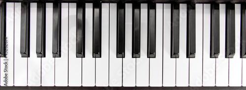 Leinwandbild Motiv Klaviertasten