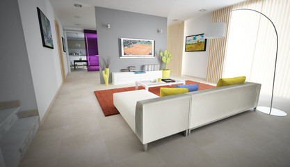 sala relax interno abitazione