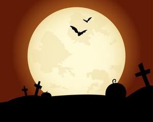 Halloween Fond Lune