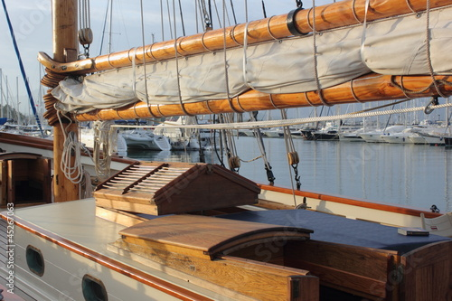 classic yacht