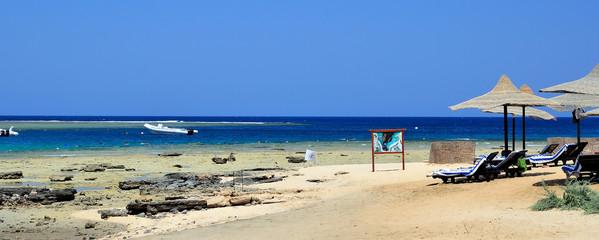 spiaggia a marsa alam, egitto
