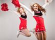 canvas print picture - sportlerportrait_cheerleader_04