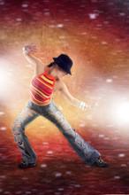 Zumba taniec