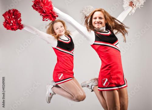 canvas print picture sportlerportrait_cheerleader_04