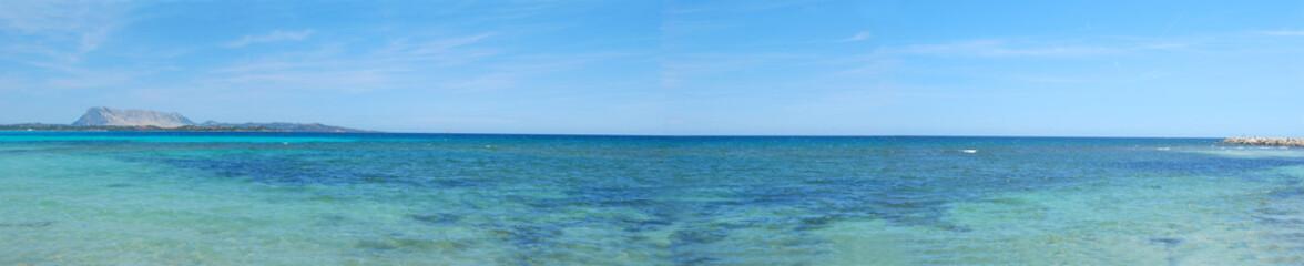 The coast of Sardinia (seascape) - San Teodoro - Italy
