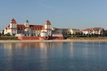 Kurhaus Binz, Ostsee, Morgensonne, Mecklenburg-Vorpommern, Rügen
