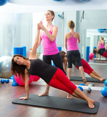 Aerobic Pilates personal trainer instructor women