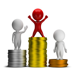 3d small people - thoughts and income