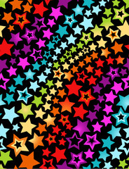 Star seamless background