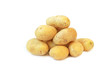 Rohe Kartoffeln